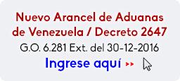 Nuevo Arancel de Aduanas de Venezuela- Decreto No 9430